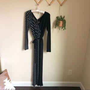 NWOT Free People New Romantics Stripe Maxi Dress